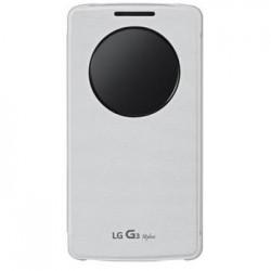 LG QuickCircle pouzdro CCF-440G pro LG G3 Stylus White