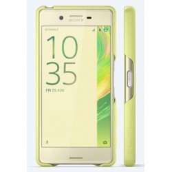 SBC22 Sony Style Back Cover pro Xperia X Lime Gold