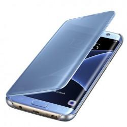 Samsung flipové pouzdro Clear View EF-ZG935CLE pro Galaxy S7 Edge Blue