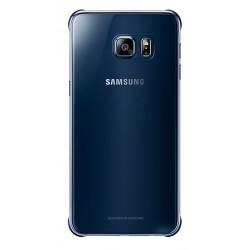 Samsung zadní kryt Clear Cover EF-QG928CBE pro Galaxy S6 Edge+ Blue/Black