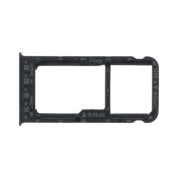 Huawei P Smart Držák SIM/Pam.Karty Black (Service Part)