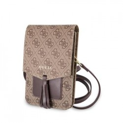 GUWBSQGBE Guess 4G Wallet Universal Pouzdro Beige