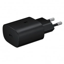 EP-TA800EBE Samsung USB-C Cestovní nabíječka Black (Bulk)