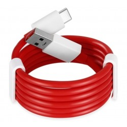 OnePlus Warp Charge Type-C Datový Kabel (100cm) Red