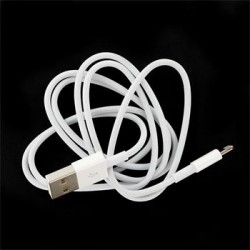 MD818 iPhone 5 Original Datový Kabel White (Bulk)