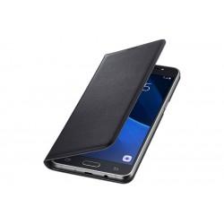 Samsung flipové pouzdro s kapsou EF-WJ510PBE pro Galaxy J5 2016 Black