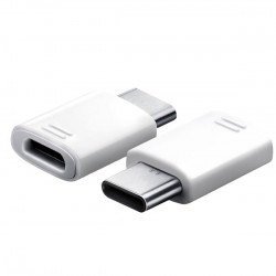 EE-GN930 Samsung Type-C/microUSB Adapter White (Bulk)