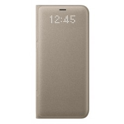 Samsung LED flipové pouzdro EF-NG950PFE pro Galaxy S8 Gold