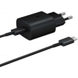 EP-TA800EBE + EP-DG980BBE Samsung USB-C Cestovní nabíječka Black (Bulk)