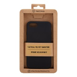 Tactical Velvet Smoothie Kryt pro Apple iPhone SE2020/8/7 Asphalt