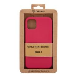 Tactical Velvet Smoothie Kryt pro Apple iPhone 11 Sangria