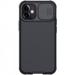 Nillkin CamShield Pro Zadní Kryt pro iPhone 12 Black