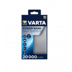 VARTA Power Bank Fast Energy 20000mAh Silver