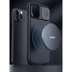 Nillkin CamShield Pro Magnetic Zadní Kryt pro iPhone 12/12 Pro 6.1 Black