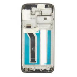 Motorola G7 Power LCD Display + Dotyková Deska + Přední Kryt  Black (Service Pack)