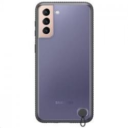 EF-GG996CBE Samsung Clear Protective Kryt pro Galaxy S21+ Black