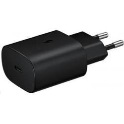 EP-TA800NBE Samsung USB Cestovní nabíječka s rychlonabíjením 25W Black
