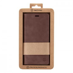 Tactical Xproof PU Kožené Book Pouzdro pro Samsung Galaxy A32 Mud Brown