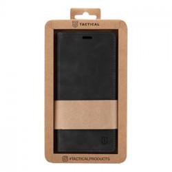 Tactical Xproof PU Kožené Book Pouzdro pro Samsung Galaxy A52 Black Hawk