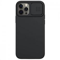 Nillkin CamShield Silky Silikonový Kryt pro iPhone 12/12 Pro 6.1 Black