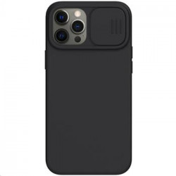 Nillkin CamShield Silky Silikonový Kryt pro iPhone 12 Pro Max 6.7 Black