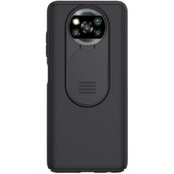 Nillkin CamShield Pro Zadní Kryt pro Xiaomi Poco X3 NFC Black