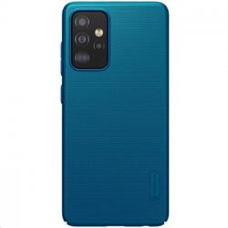 Nillkin Super Frosted Zadní Kryt pro Samsung Galaxy A52 Peacock Blue