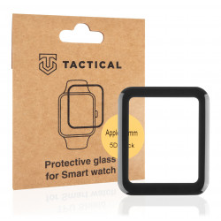 Tactical Glass Shield 5D sklo pro Apple Watch 4/5/6/SE 40mm Black