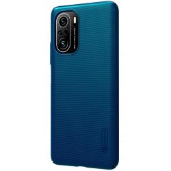 Nillkin Super Frosted Zadní Kryt pro Xiaomi Poco F3 Peacock Blue