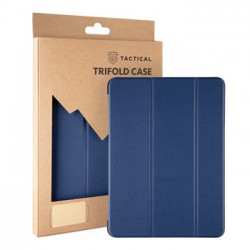 Tactical Book Tri Fold Pouzdro pro Samsung T220/T225 Galaxy Tab A7 Lite 8.7 Blue