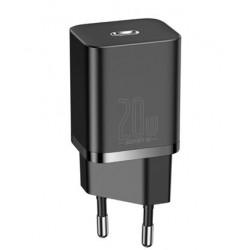 Baseus CCSUP-B01 Super Si Quick Charger USB-C 20W Black