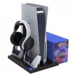 iPega P5013 Charger and Cooling Station pro PS5 a PS5/PSMove Controller