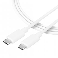 Tactical 008 Smooth Thread Cable USB-C/USB-C  1m White